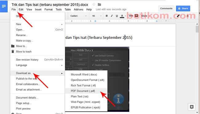 pdf to word google drive