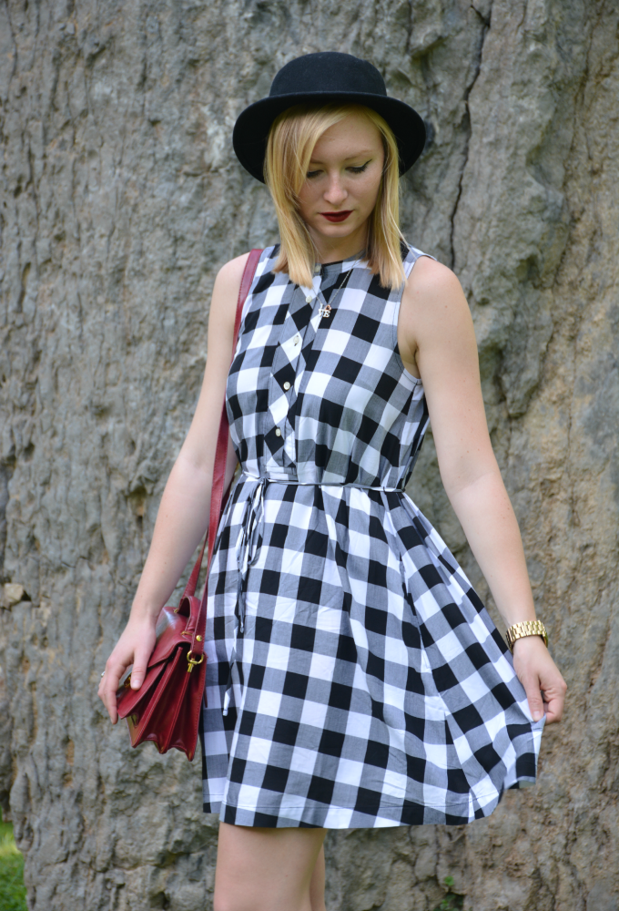 A Gingham Dress and Local Adventures | Organized Mess