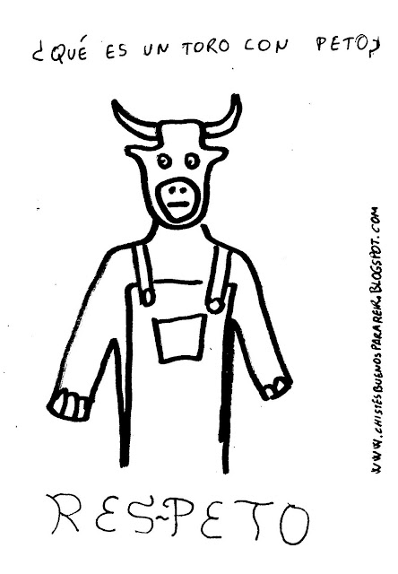 ¿qué es una vaca con un peto? respeto