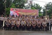 Akbp. Taovik Ibnu Subarkah S.IK Pimpin Upacara Korps Raport Polres Kepulauan Selayar