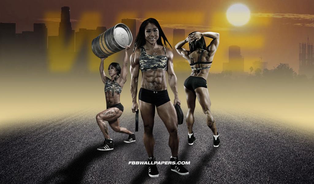 Female Bodybuilder Melissa Sarah Wee