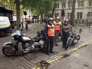 Picture of Bridgewater Chapter of Harley Davidson Moggy, Fred and Steve