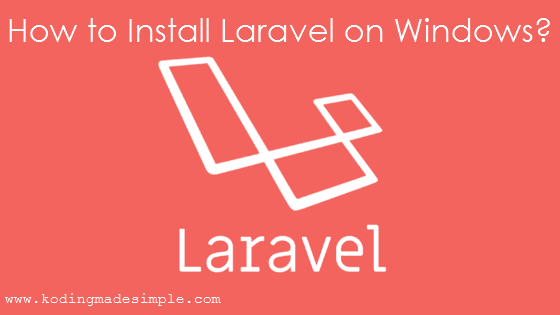 step by step install laravel on windows composer