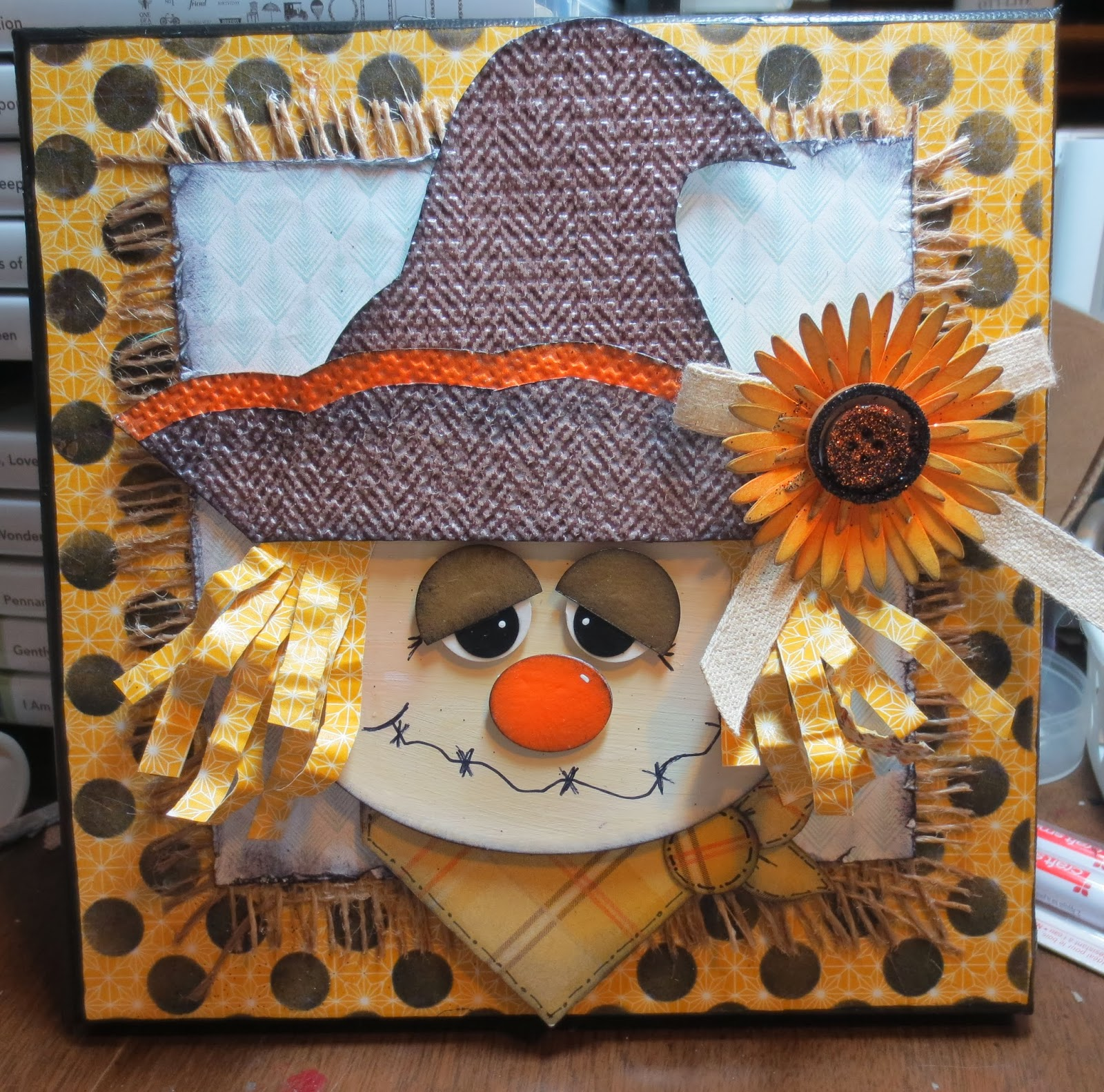 Texas Two Step: Scarecrow Canvas Project
