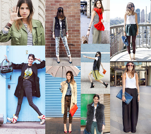 THE CONFASHIONIST: INSPIRATION: LEANDRA MEDINE