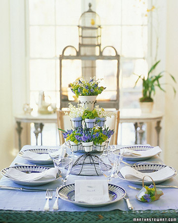 Frugal And Vintage Spring Tablescape Inspiration