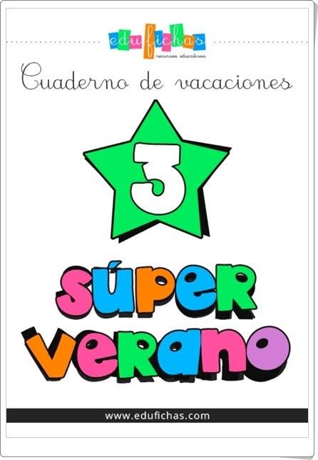 """""""Superverano 3"""" (Cuaderno de Vacaciones de Infantil)"""