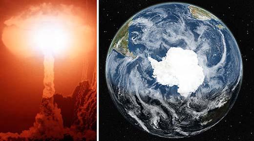 La Antártida es una gran lanzadera nuclear desde el cual los científicos controlan el clima