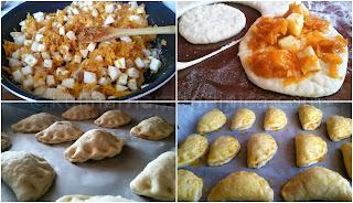 Рецепта за пирожки с ябълки и тиква