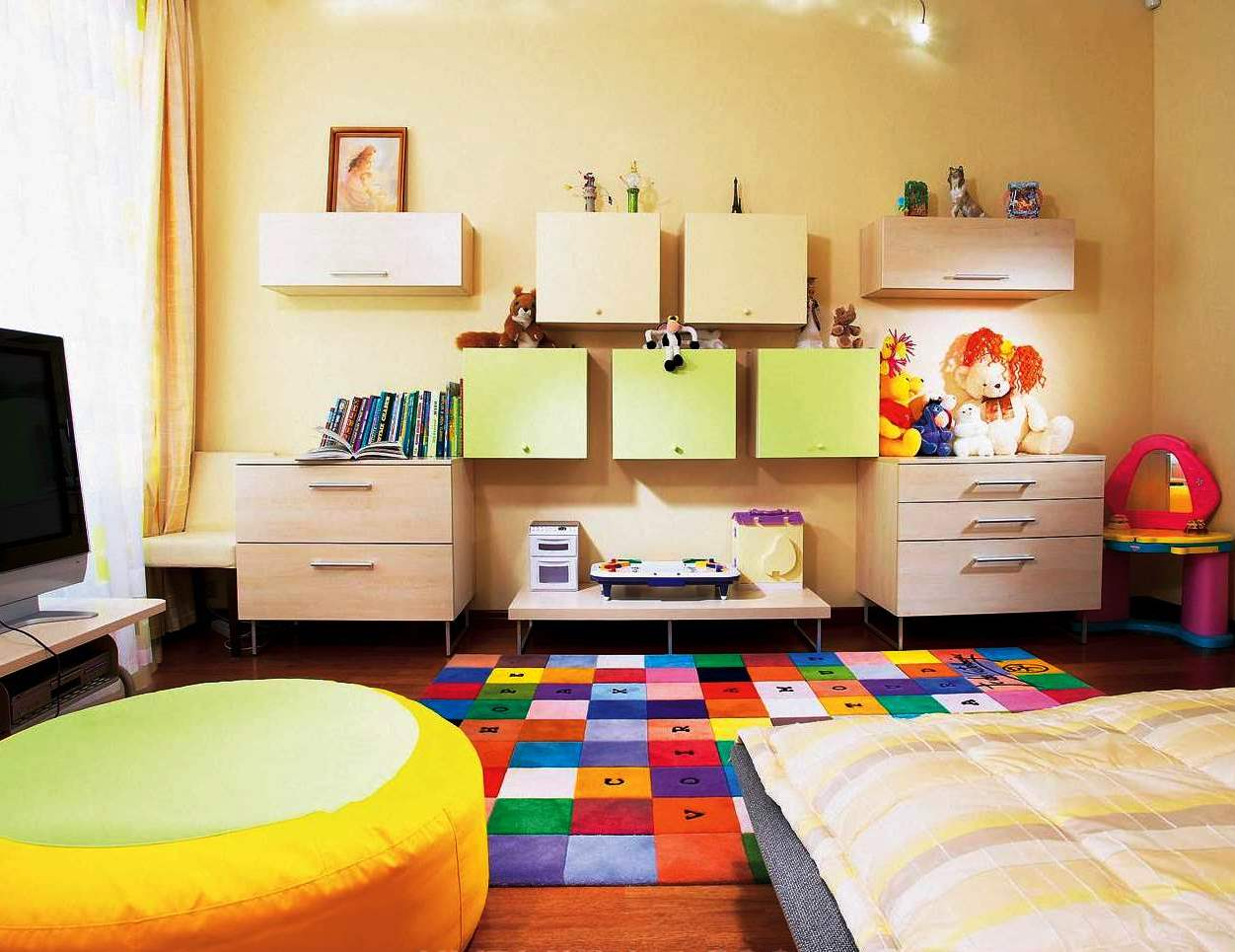 Rainbow Kids Rooms Vamos Organizar A Bagunça Decor Alternativa