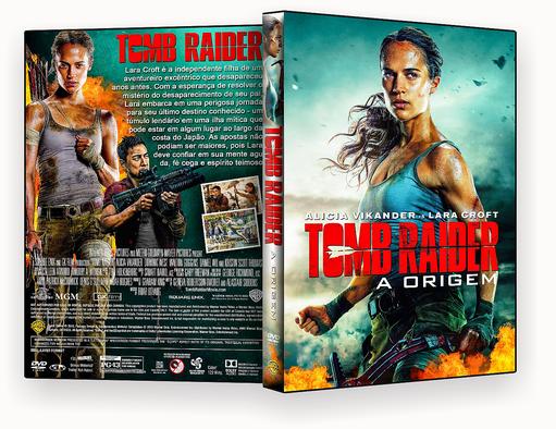 Tomb Raider A Origem 2018 DVD-R -CAPA DVD