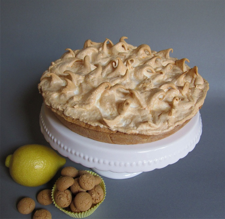 Amarettini Lemon Pie
