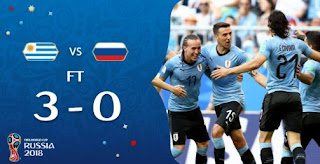 Uruguay vs Rusia 3-0 Video Gol Highlights