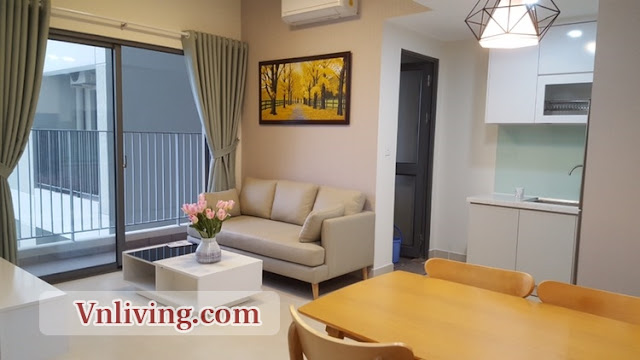 2 Bedrooms for lease in Tower 1 Masteri Thao Dien Apartment