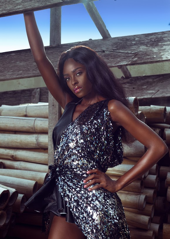 Top model, Victoria Michaels stuns is editorial shoot to celebrate her birthday