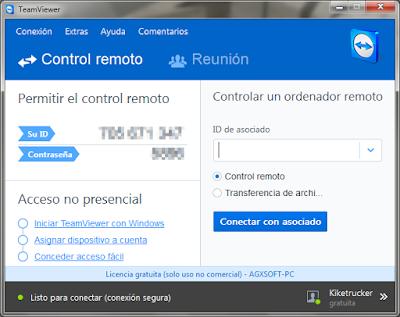 Control y asistencia remota de ordenadores