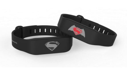 The Watchdata Batman v Superman Fitness Tracker X EZ-Link