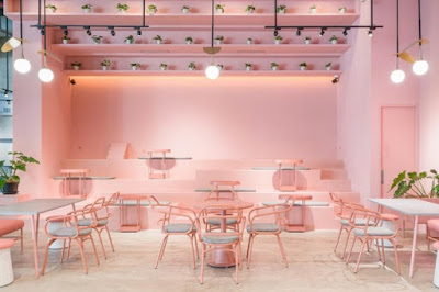 Cafe Romantis Serba Pink di Jakarta Yang Populer