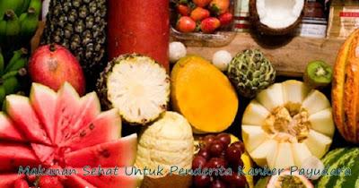 makanan sehat untuk kanker payudara