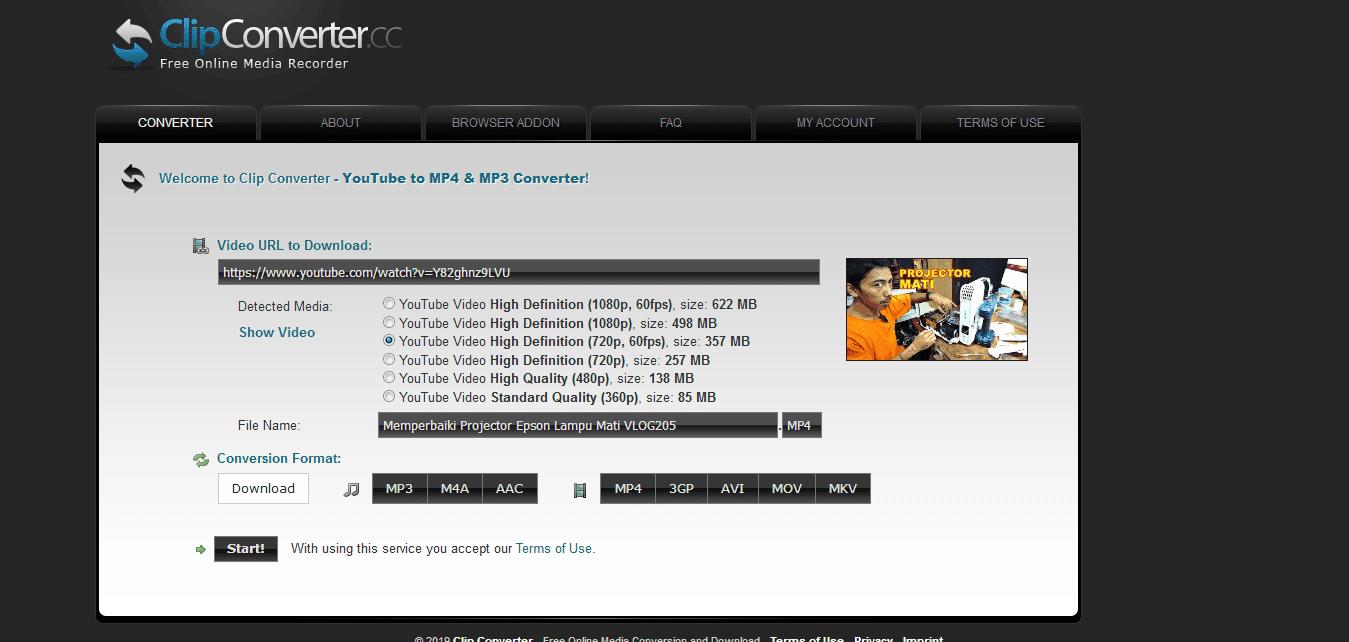 Cara Download Video Youtube Hight FPS Tanpa Software