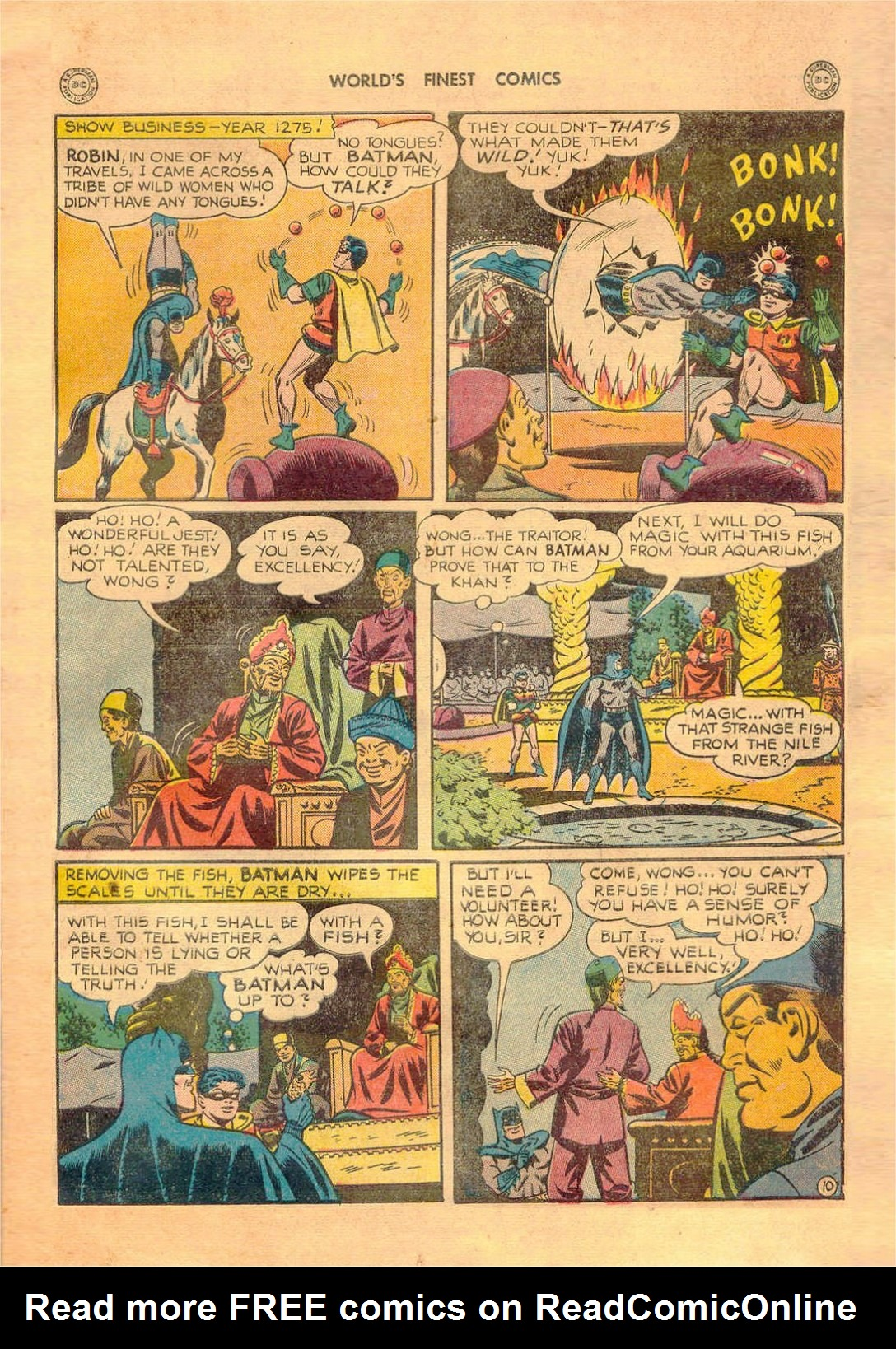 Read online World's Finest Comics comic -  Issue #42 - 71