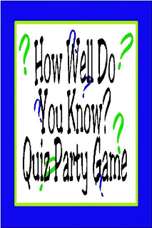 This party game is a great addition to a birthday or graduation party. With fun questions for your guests about the party girl or boy, everyone will show off their knowledge and enjoy getting to know the honoree.