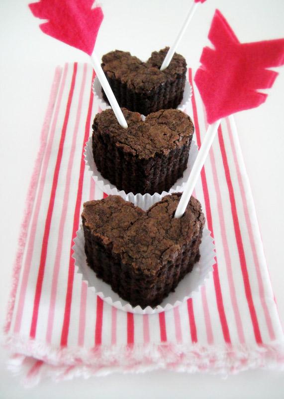 Cupcakes en forme de coeur