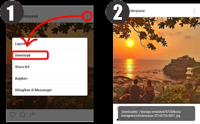 Cara Mudah Download Gambar dan Video di Instagram Dengan Instagram+