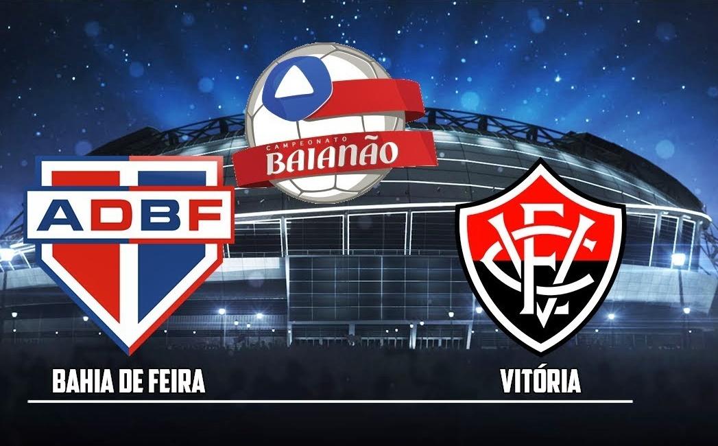 Assista ao vivo HD Bahia de Feira x Vitória pelo Campeonato Baiano 1