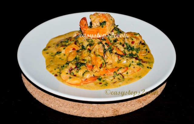 yummy lemon garlic prawn easy recipe