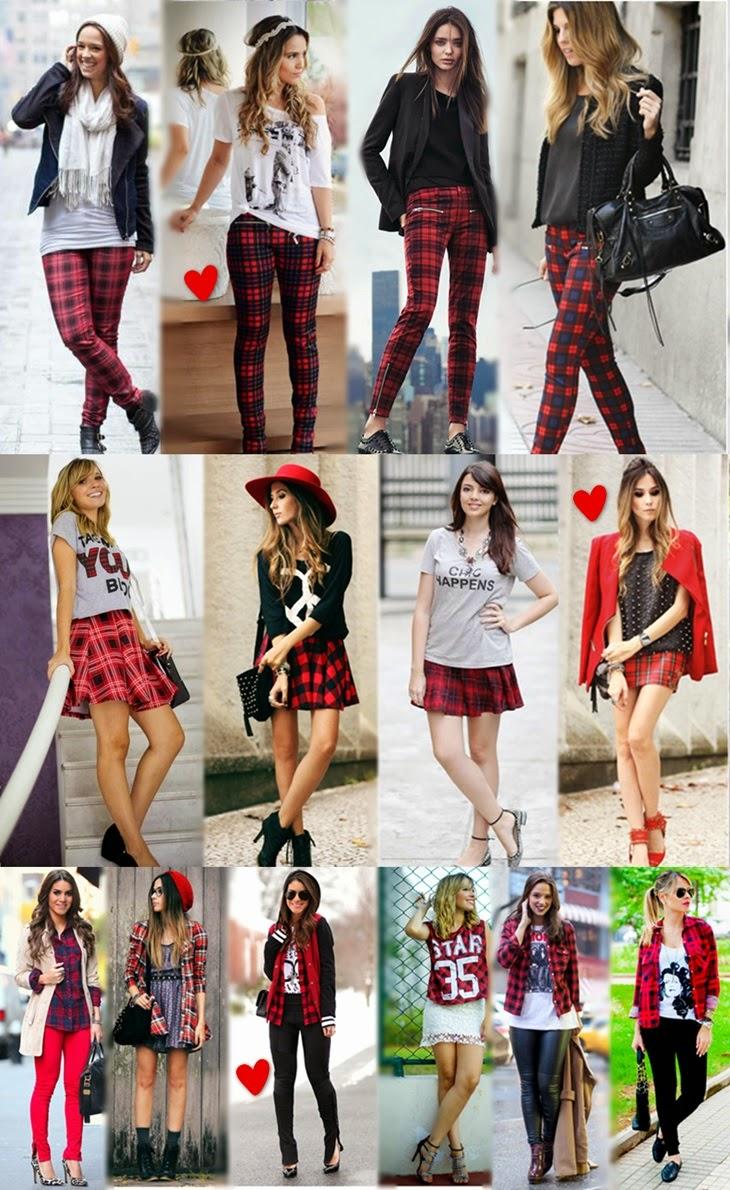 904cee704 A estampa xadrez pode aparecer num look completo (conjuntinhos ou vestidos)