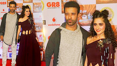 ita-awards-2017-aamir-sanjeeda-attended-the-awards-show