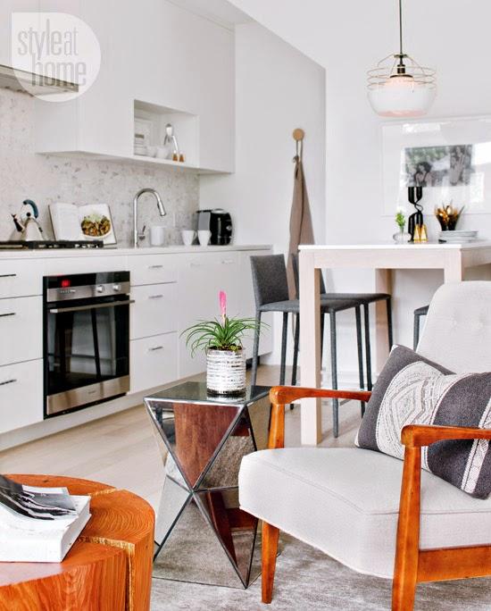 Decoração do apartamento teve uma exigência: tinha que ser confortável e clean. Blog Achados de Decoração