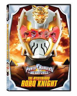 DVD Review - Power Rangers Megaforce: The Mysterious Robo Knight