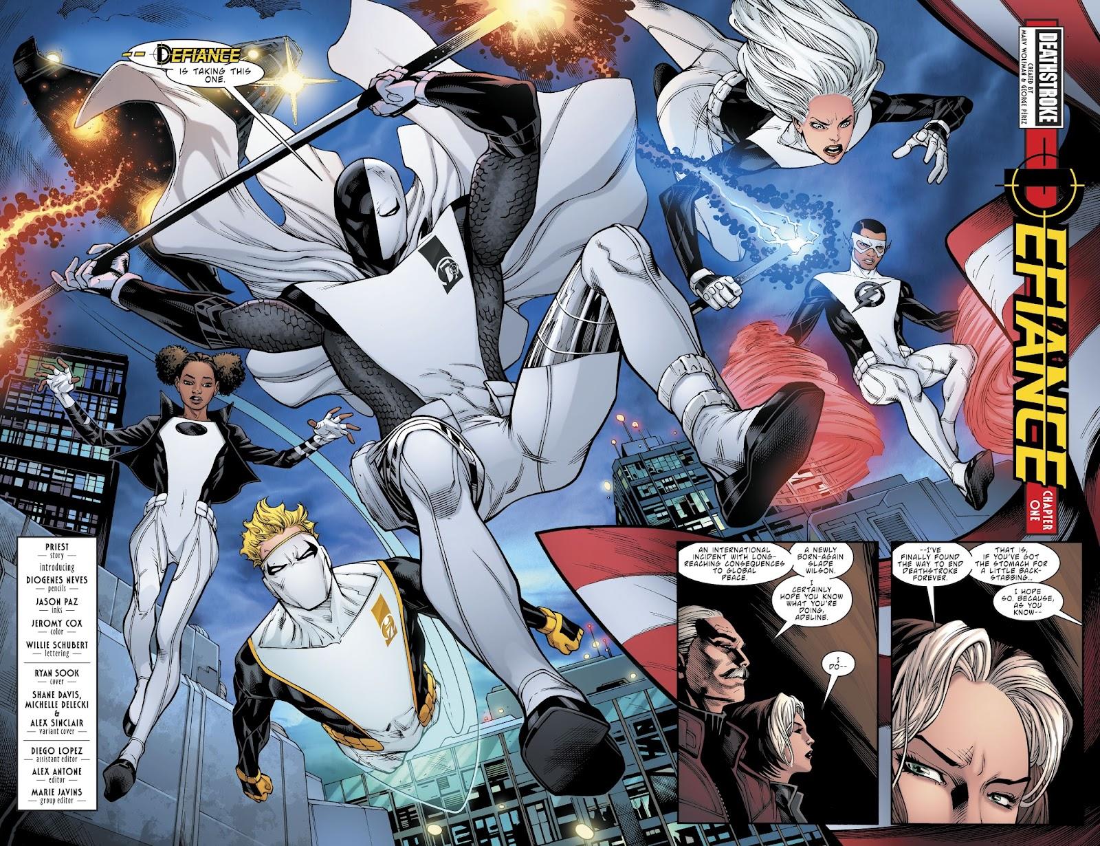 Read online Deathstroke (2016) comic -  Issue #21 - 21