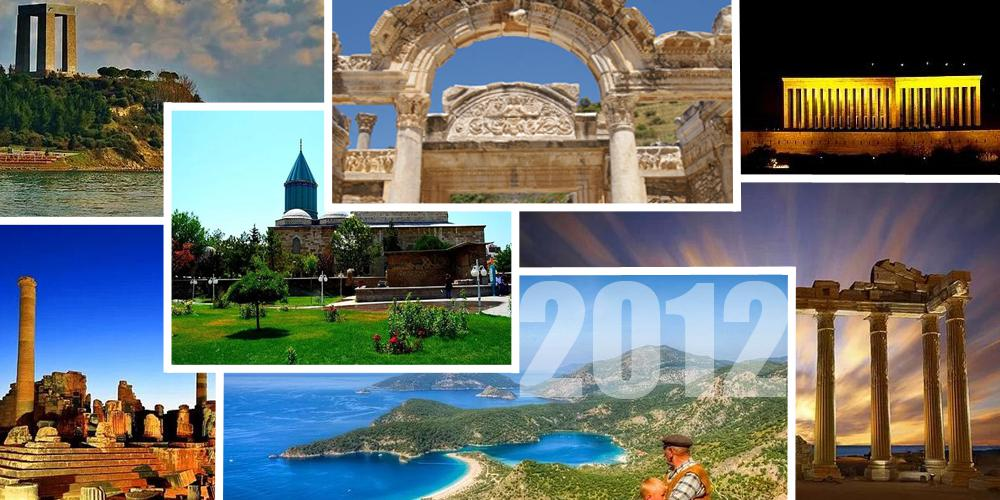 2012 Ankara - Konya - Antalya - İzmir Turu