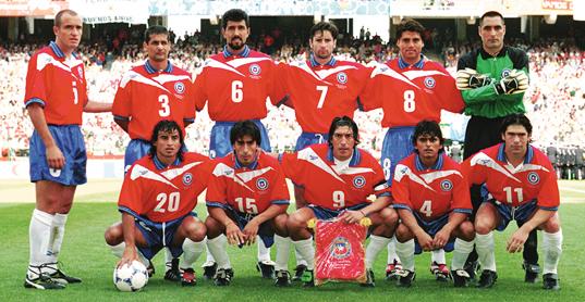 Formación de Chile ante Austria, Copa del Mundo Francia 1998, 17 de junio