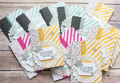Pocket Treat Cards for the Stampin' Super Stars