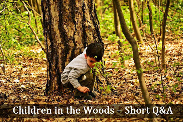 children in the woods short questions