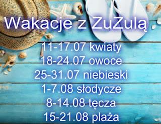 Wakacje z ZuZulą - tydzień 2