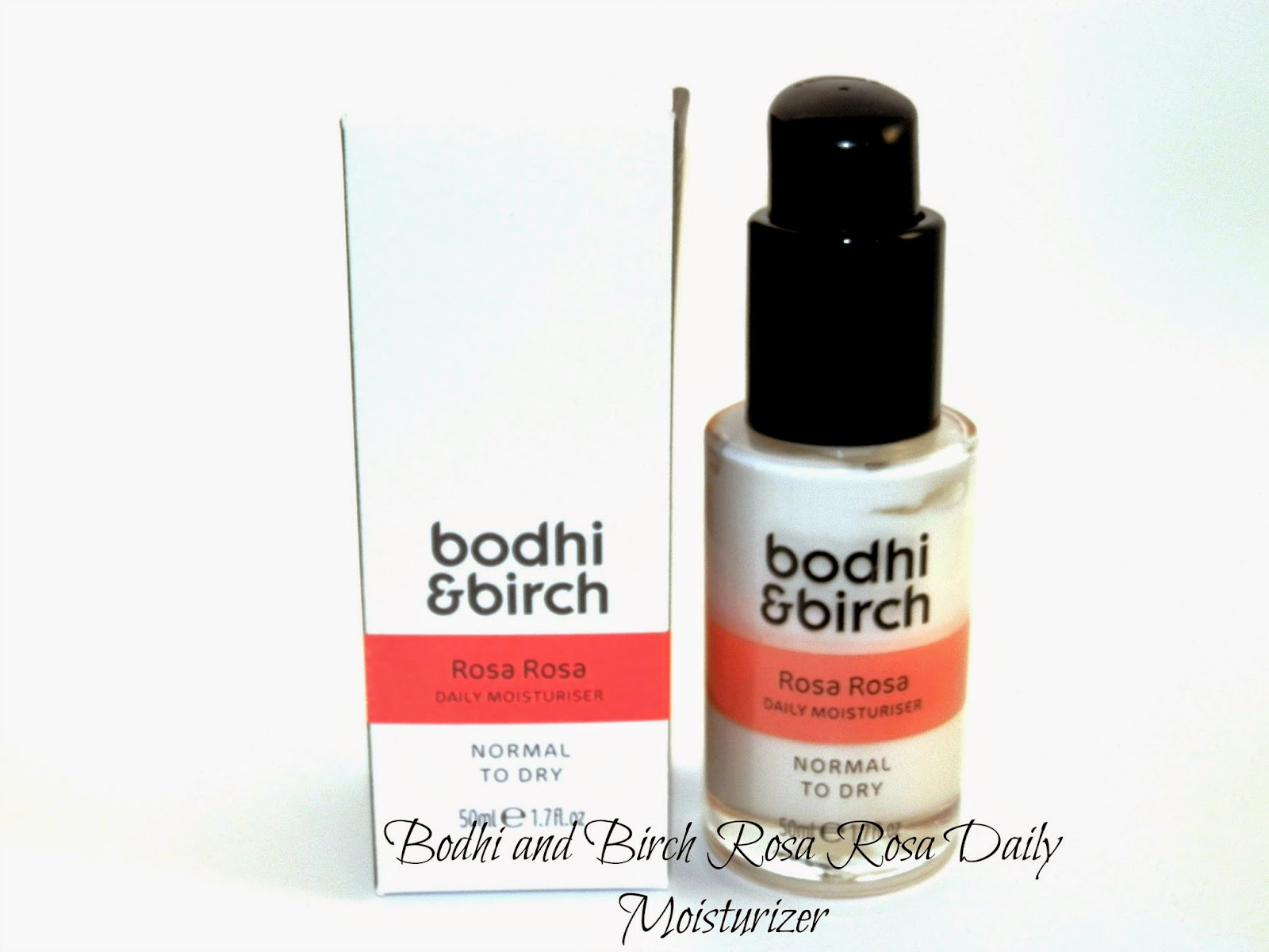 Bodhi and Birch Rosa Rosa Daily Moisturiser Reviews