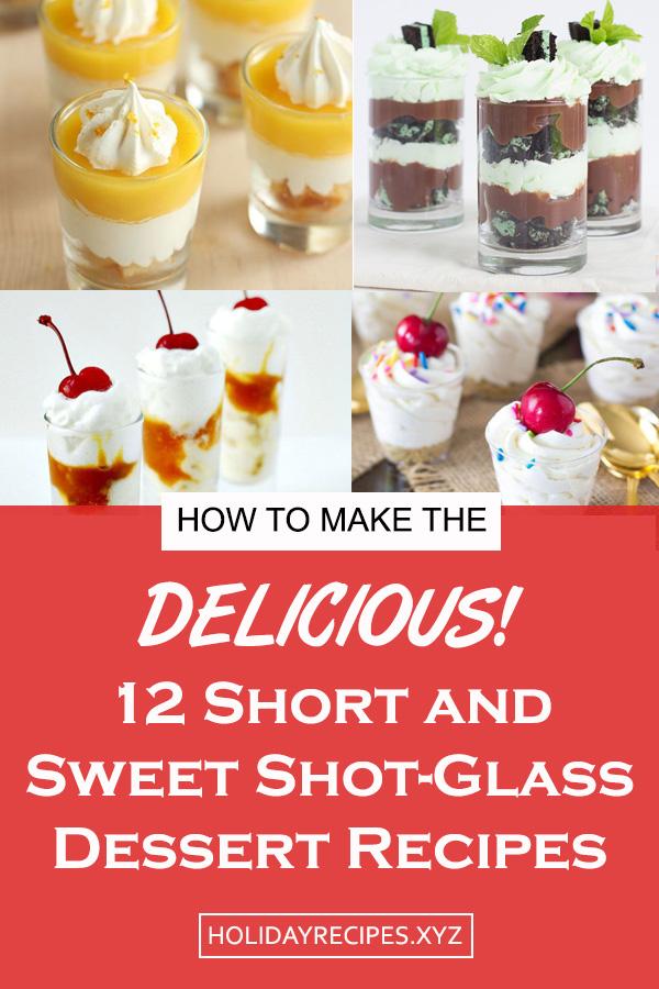 12 Short and Sweet Shot-Glass Desserts Recipe | Dessert Recipes For A Crowd, Dessert Recipes Easy, Dessert Recipes For Parties, Dessert Recipes Mini, Dessert Recipes Pudding, Dessert Recipes Cheap, Dessert Recipes Amazing, Dessert Recipes Homemade #dessert #cheesecake #peanutbutter #short #shotglass #shooters #easydessert #minidessert #nobake #chocolate #trifles #cookies