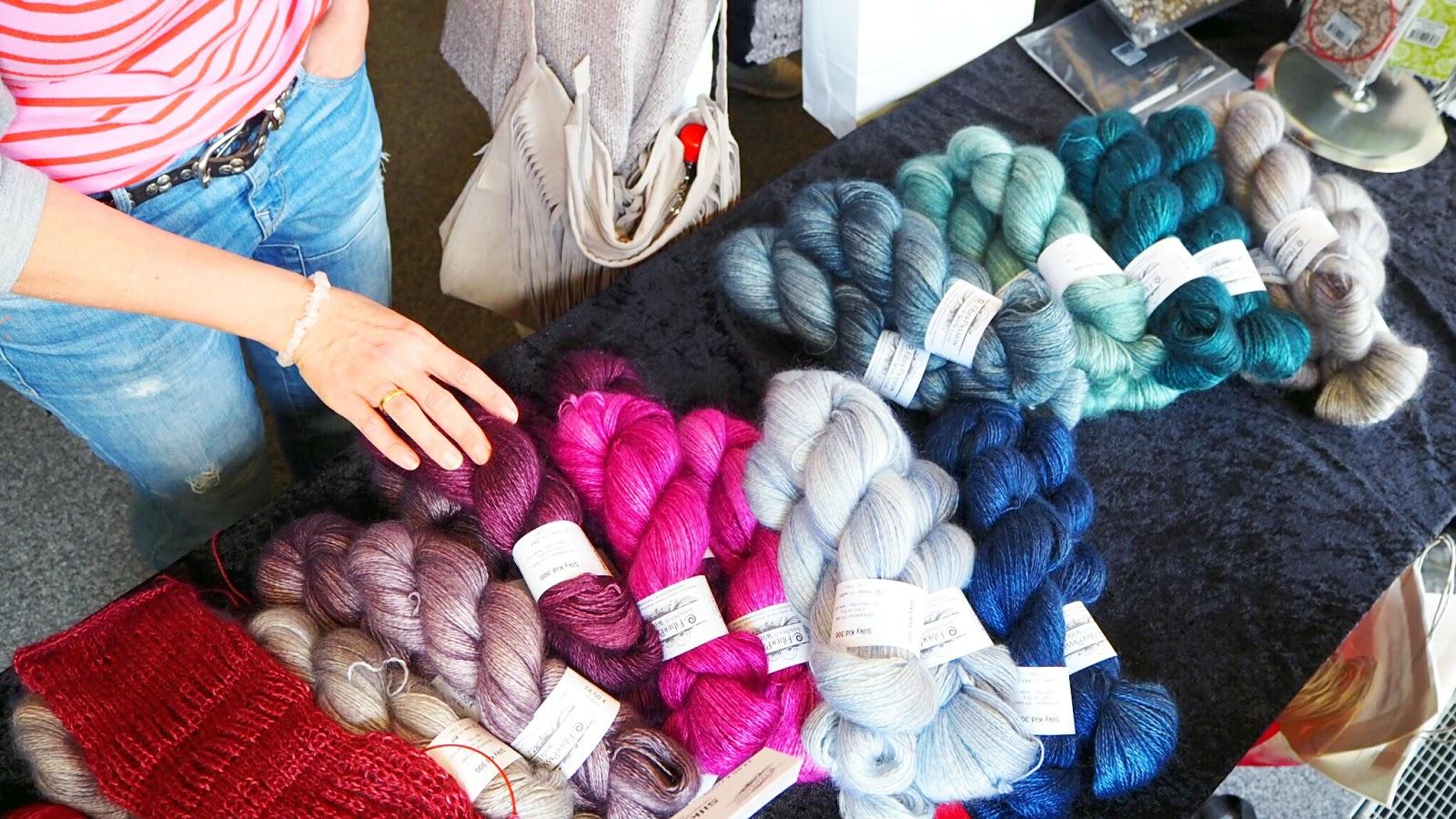 Fiberpassion handgefärbte Wolle