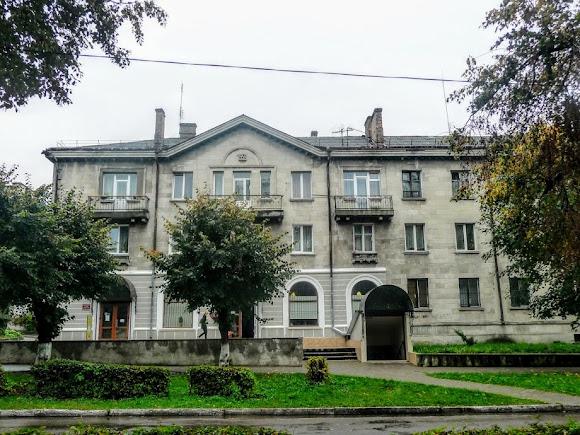 Сокаль. Улица Шептицкого. Дом 1958 года постройки