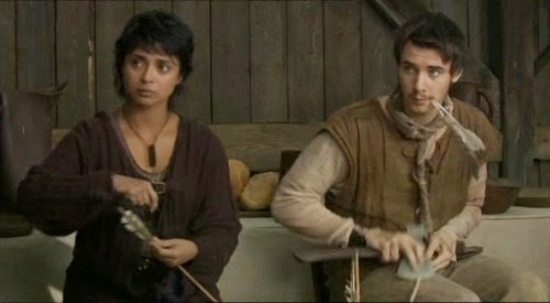 Picture of BBC's Robin Hood - Djaq and Will