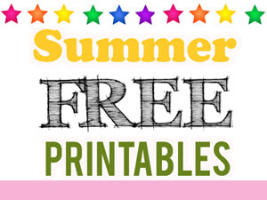 Summer Free Printables: Reading+Surprises+Activities= Fun!