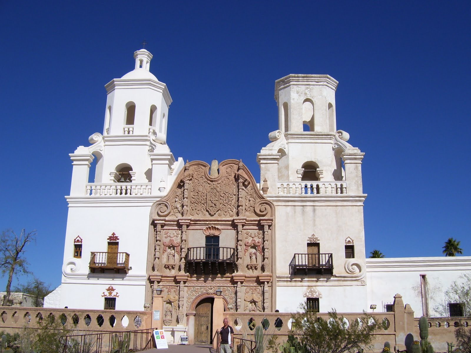 Trent and Teresa: Mission San Xavier