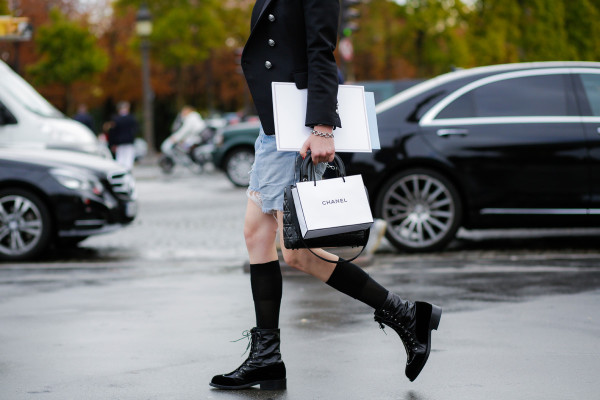 Zapatos planos con calcetines street styl