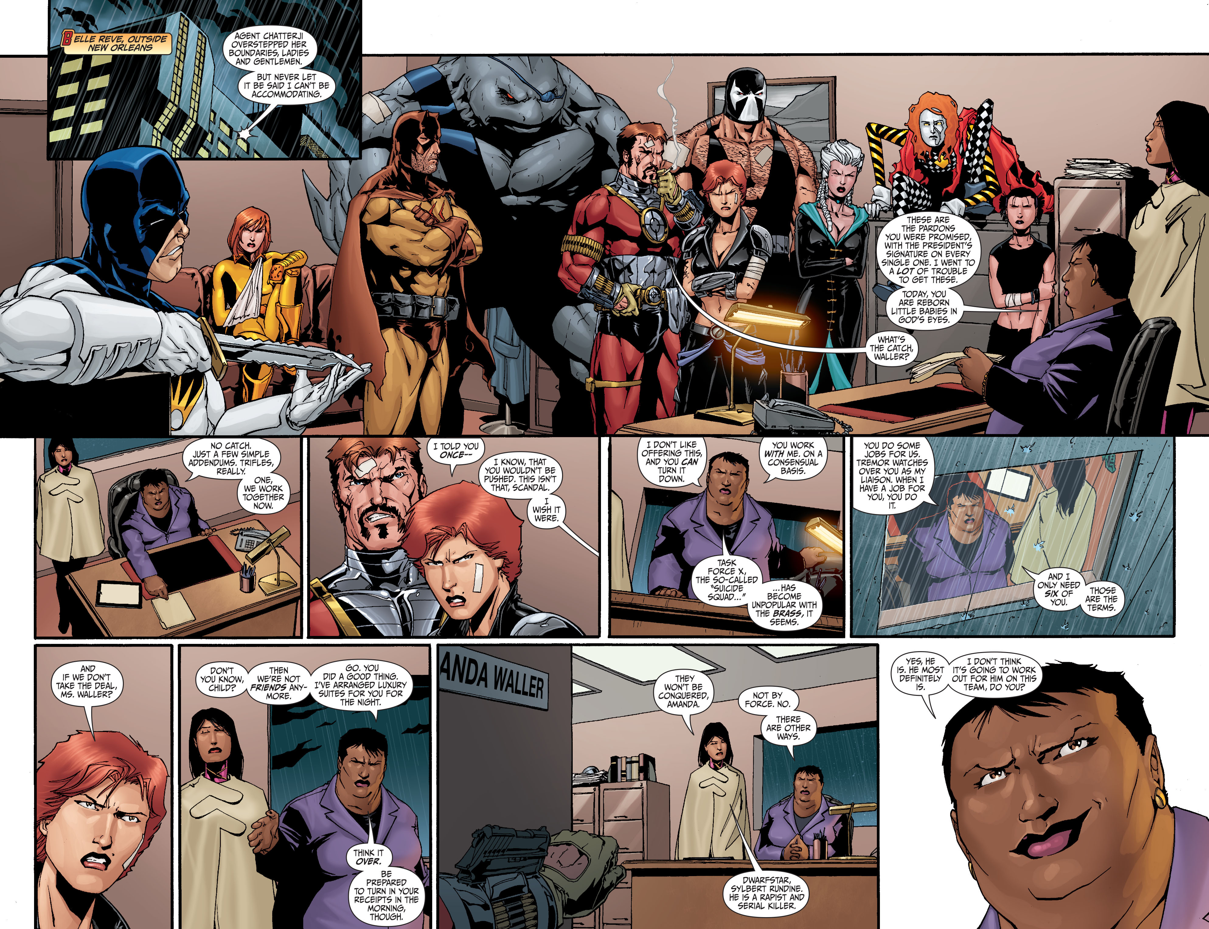 Read online Secret Six (2008) comic -  Issue #28 - 18