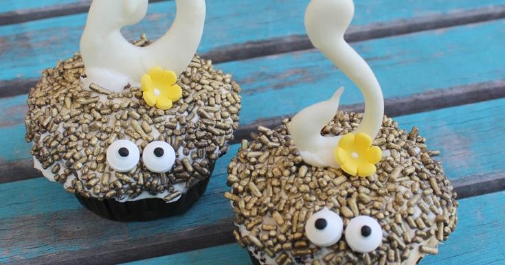 Doodlecraft Moana Inspired Tamatoa Shiny Cupcakes